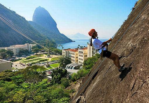 Curso básico de escalada no Rio